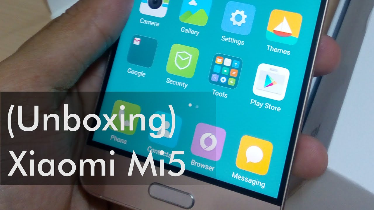 Xiaomi Mi 5 Gold Unboxing First Impression Review