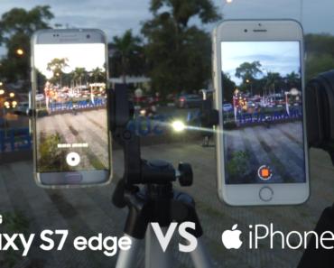 Samsung Galaxy S7 Edge Vs iPhone 6s Camera Comparison (Panorama, Focus Speed, 4K Video, Timelapse)