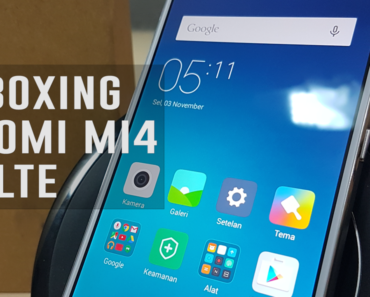Unboxing Xiaomi Mi4 4G LTE