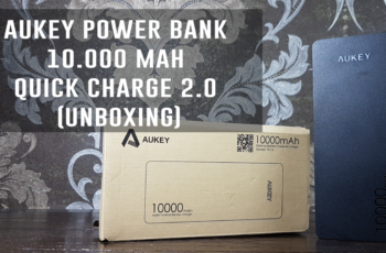 AUKEY Power Bank 10000mAh Quick Charge 2.0 (Unboxing)
