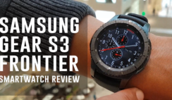 Samsung Gear S3 Frontier Smartwatch Review (Sound and Water Test)