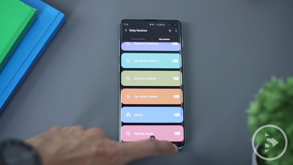 BIXBY & ONE UI - Samsung Galaxy S10 Plus Bixby Routine