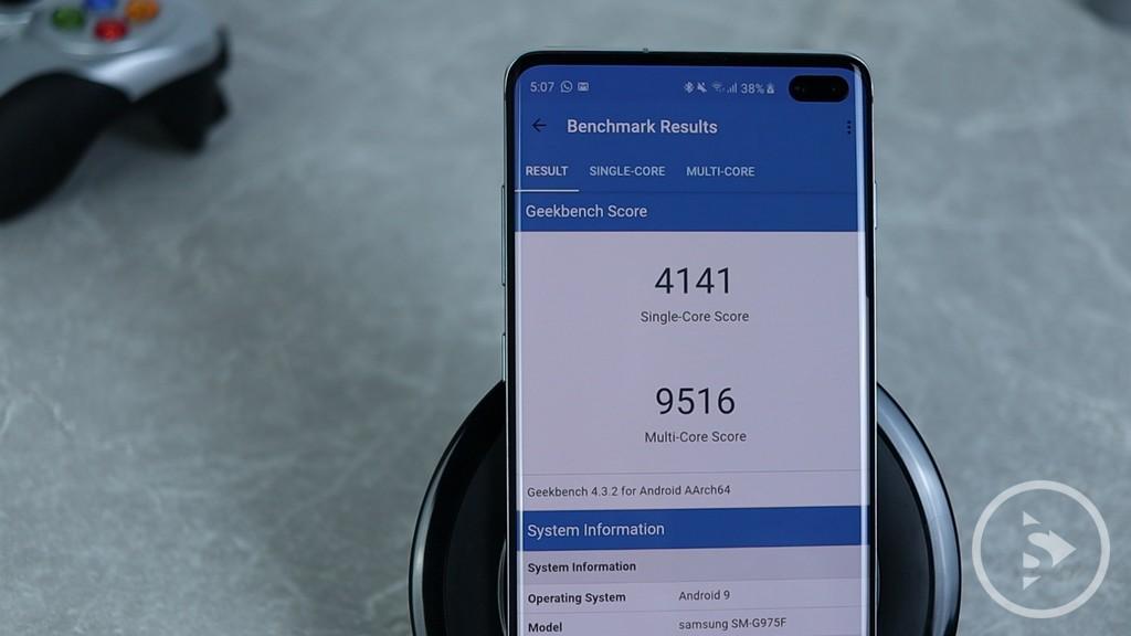PERFORMANCE & SPECIFICATIONS - Samsung Galaxy S10 Plus Skor Benchmark