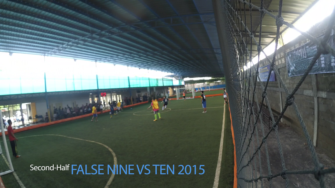 EDSA LEAGUE 2016 - FALSE NINE VS TEN 2015 (Second-half)