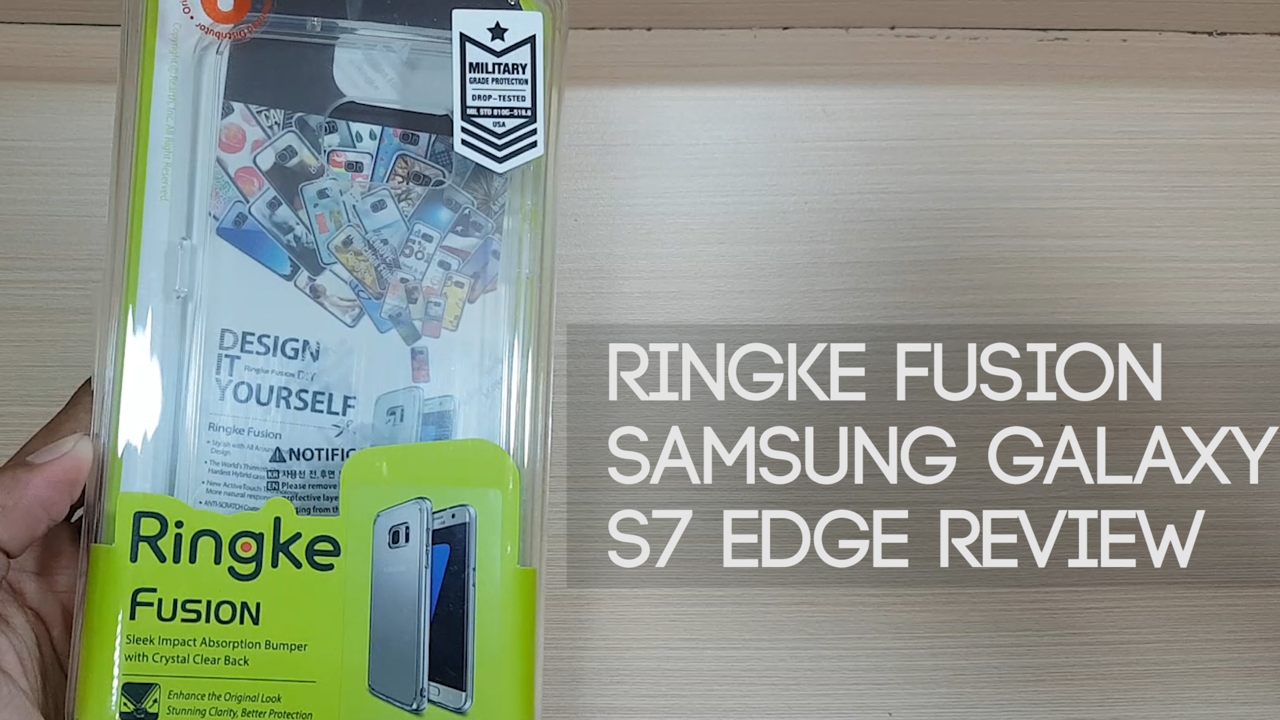 Ringke Fusion for Samsung Galaxy S7 Edge Review