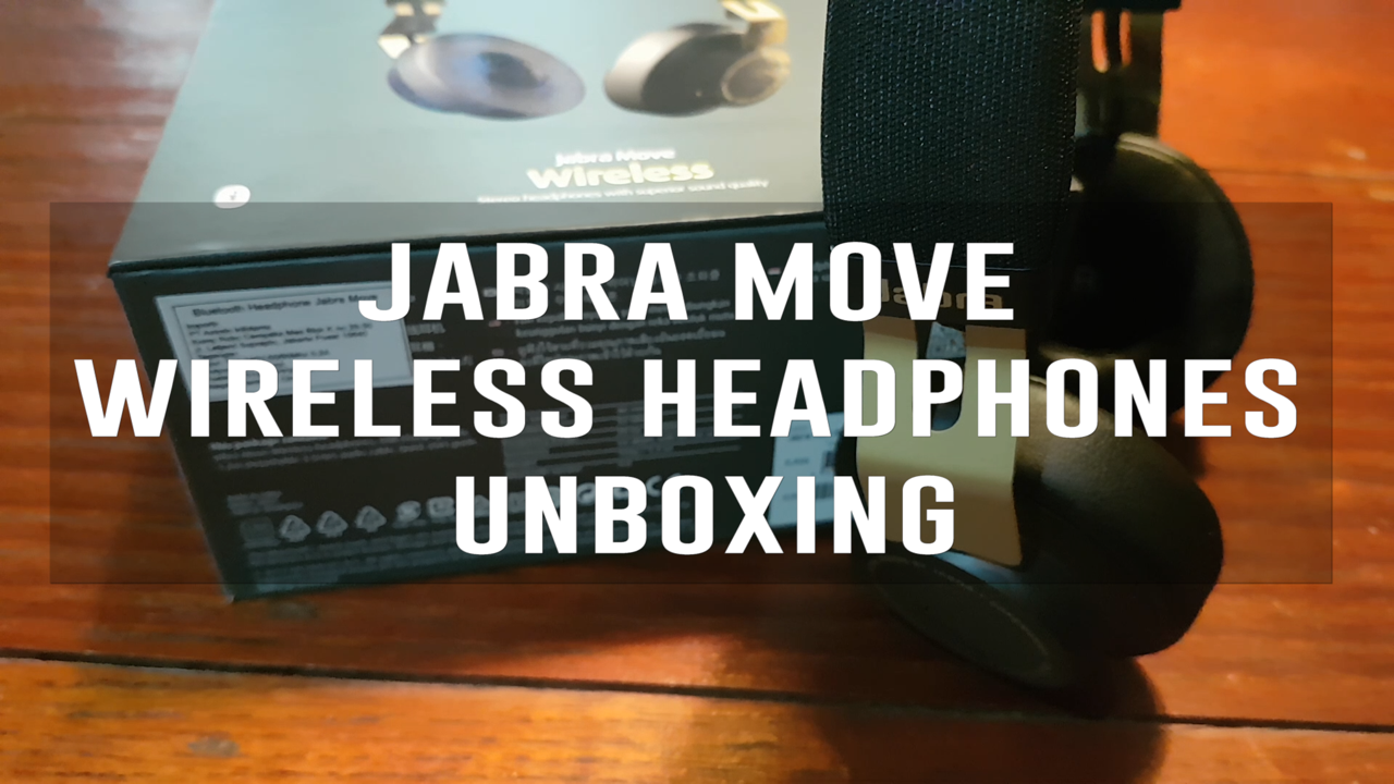Jabra Move Wireless Headphones (Unboxing)