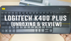 Logitech K400 Plus (Unboxing & Review)