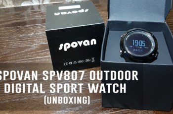 Multifunction Spovan SPV807 Outdoor Digital Sports Watch (Unboxing)