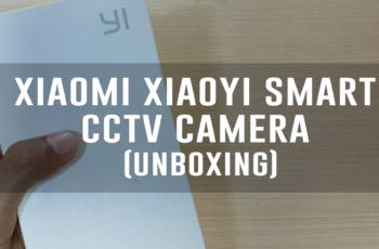 Xiaomi Xiaoyi Smart CCTV Camera - White (Unboxing)