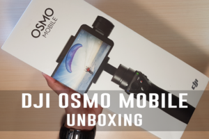 Dji Osmo Mobile Unboxing (Gimbal for iPhone and Android)