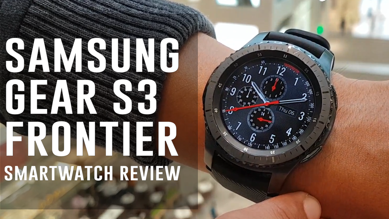 Samsung Gear S3 Frontier Smartwatch Review (Sound and Water