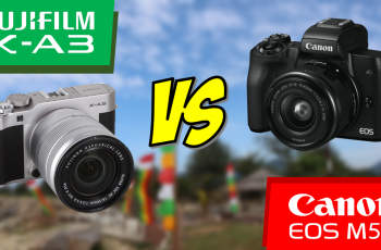 Canon EOS M50 VS Fujifilm X-A3 (Entry-Level Camera Side by Side Comparison Test)
