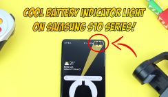 Samsung Galaxy S10eS10S10 Plus Battery Indicator Light - Activate a COOL Battery Indicator Light!