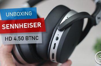 Unboxing Sennheiser HD 4.50 BTNC - Wireless Bluetooth Noise Canceling Headphone with aptX technology