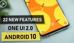 22 New Features on the Latest Samsung One UI 2.0 based on Android 10 Update on Samsung Galaxy S10+